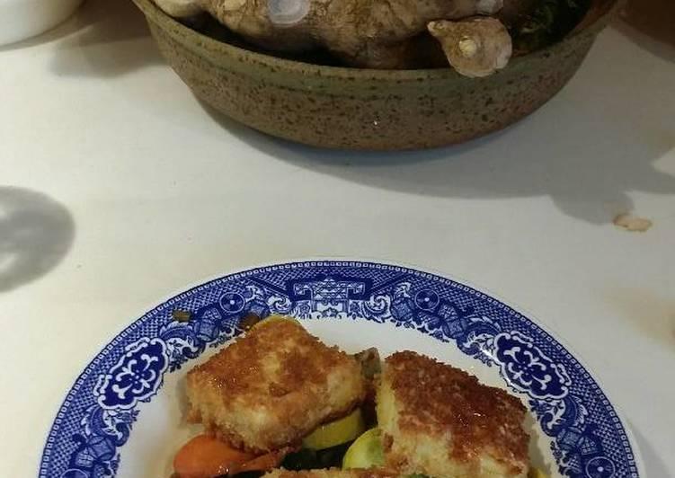 Recipe of Award-winning Pan Fried Panko Tofu