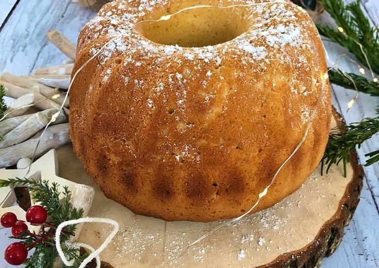 Recette  Gâteau au yaourt de noël 🤶
