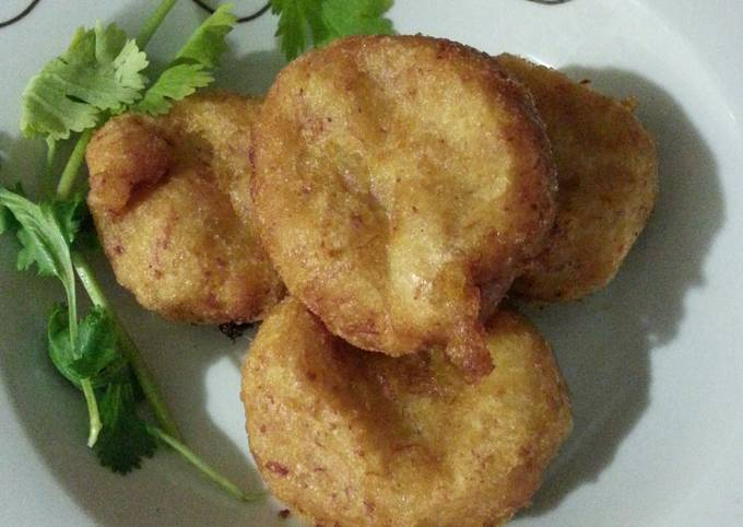Potato and Corned Beef Fritters
