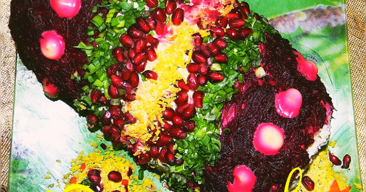 салат хлопушка рецепт с фото словам