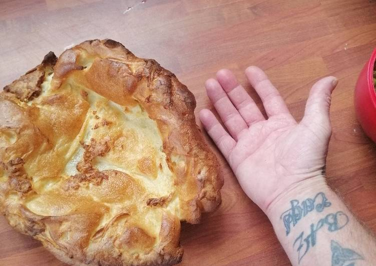 Steps to Make Favorite Giant Yorkshire puddings