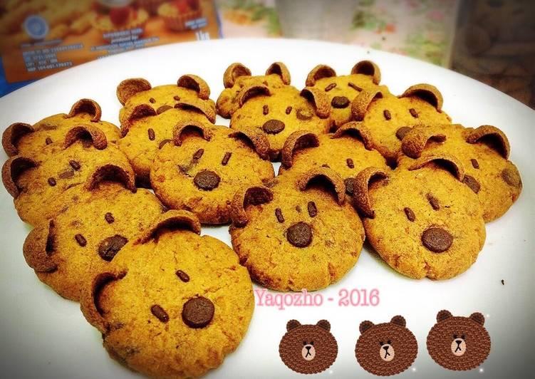 Brown Cookies (character cookies)