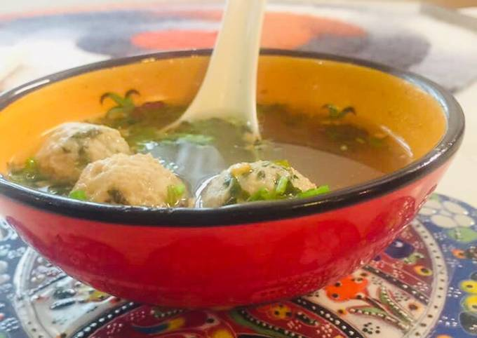 Thai Meatballs Soup