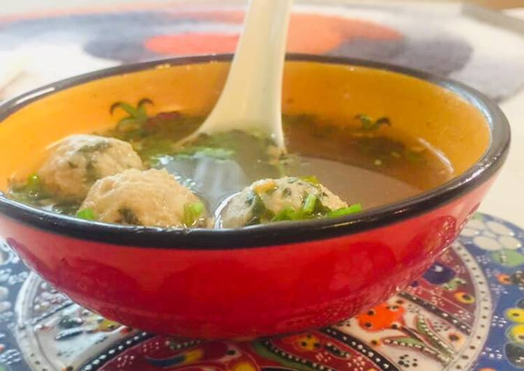 Thai Meatballs Soup