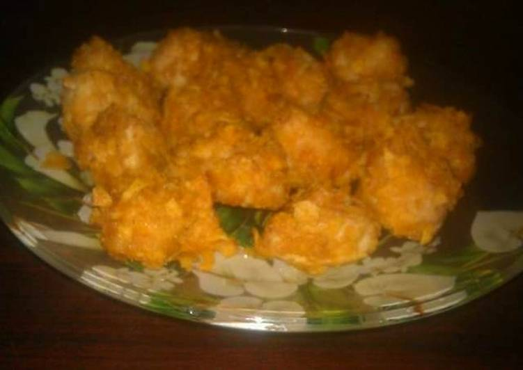 Get Lunch of Oil free baked chicken nuggets(Ramadan iftar)