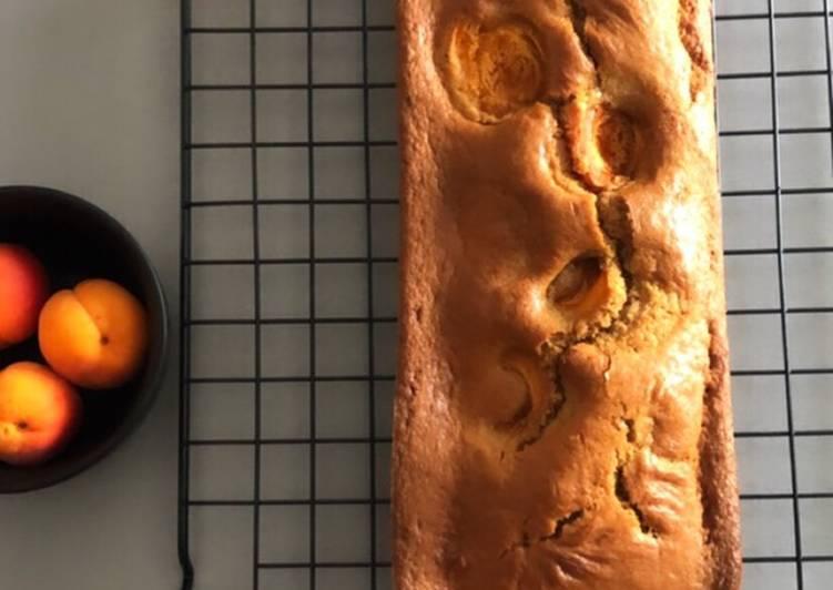 Recette: Délicieux Cake à l'abricot sans sucre raffiné
