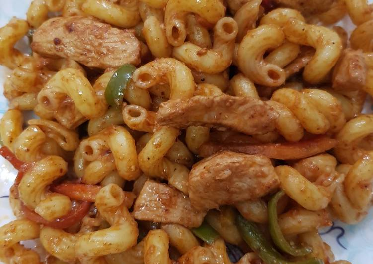 Recipe of Top-Rated Chicken macaroni