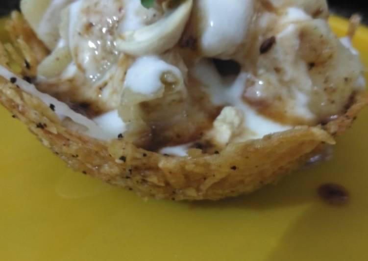 Easiest Way to Prepare Ultimate Lacha potato katori loaded with grains