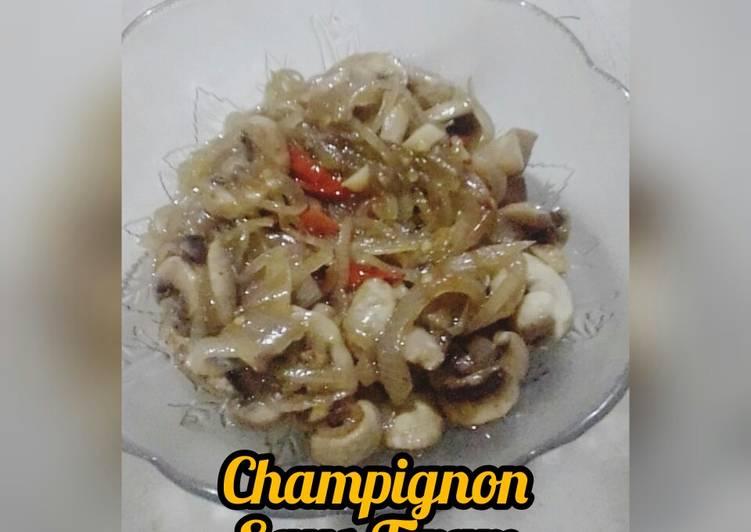 Champignon Saus Tiram