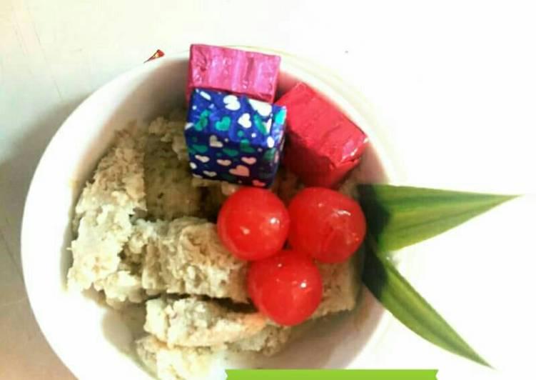 Es krim kacang hijau mudah banget