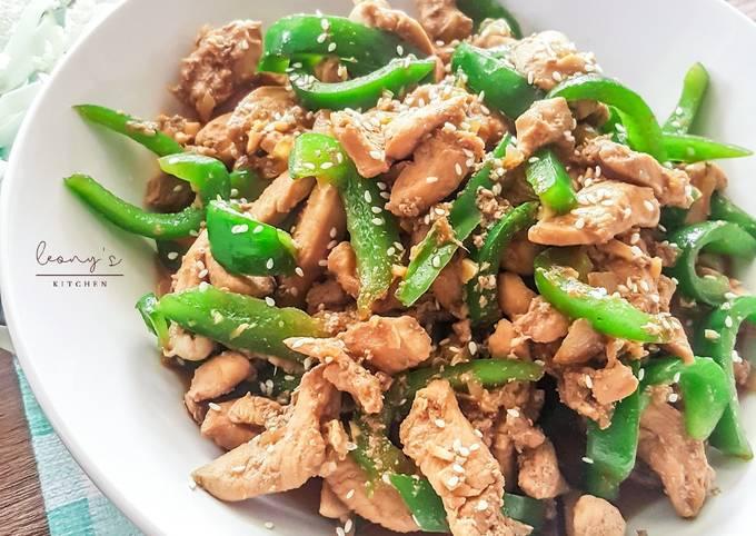 Resep Dan Cara Masak Tumis Ayam Paprika Super Enak Sederhana Dan Bikin Nagih Resep Mudah Dan Sederhana Ala Rumahan