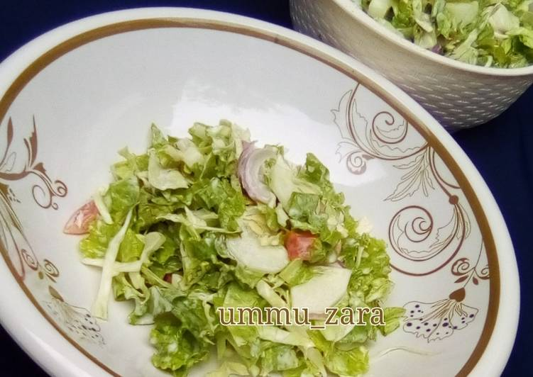 Recipe of Award-winning Lettuce and cabbage salad