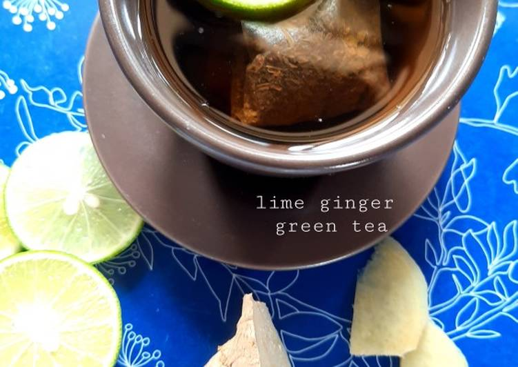Lime Ginger Green Tea - resepipouler.com