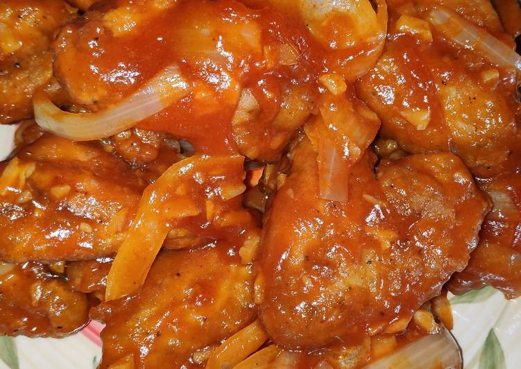 Cara Termudah Untuk Memasak Makanan Sayap Ayam Asem Manis Pedas Super Praktis