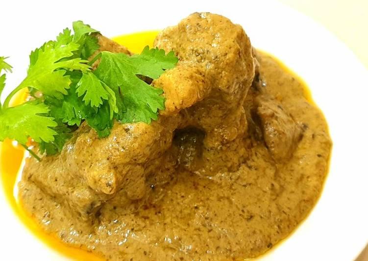 Mutton Afghani recipe