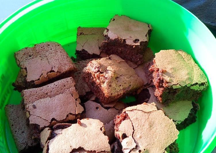 Recipe of Speedy Brownies - Gluten, wheat and dairy free