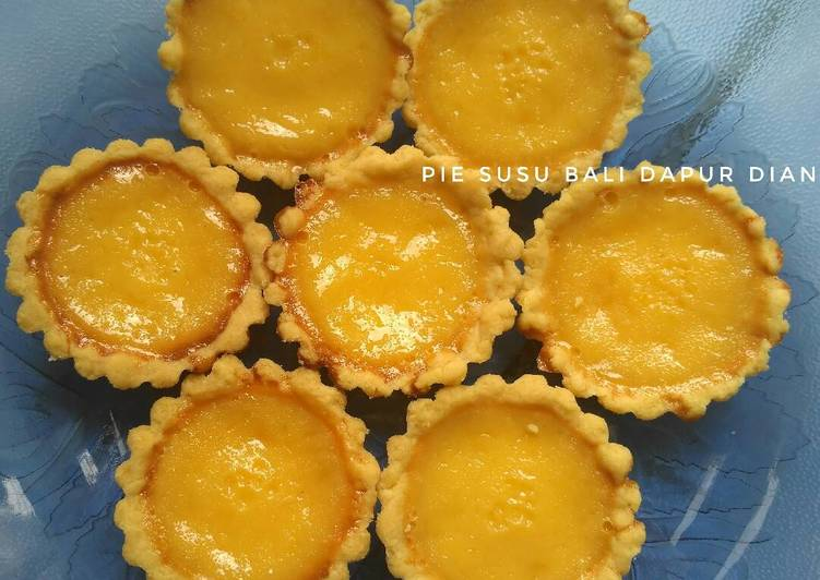 Pie susu bali (resep chef farah Queen)