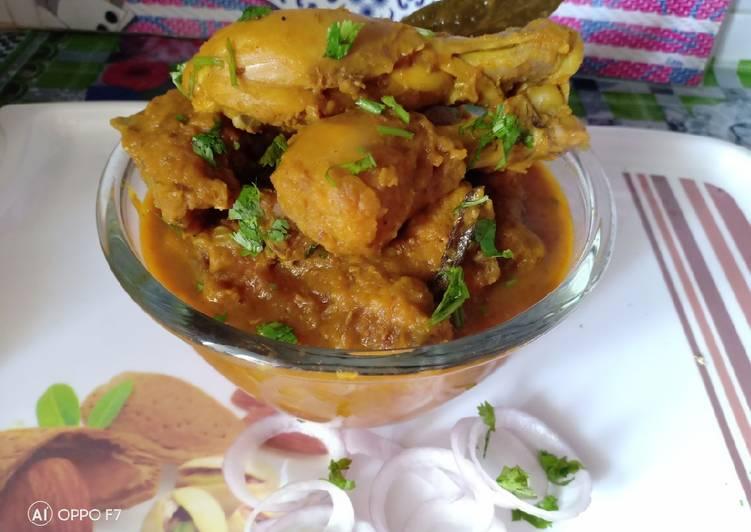 Masala gravy chicken