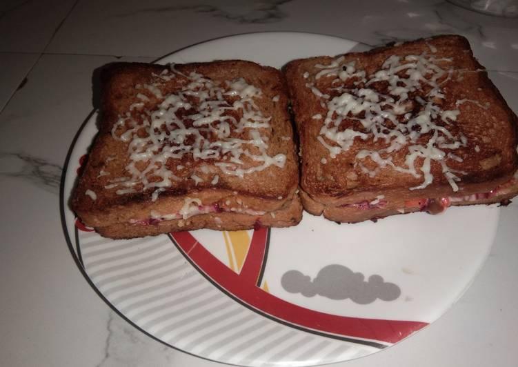 Recipe: Perfect Mayonnaise sandwich