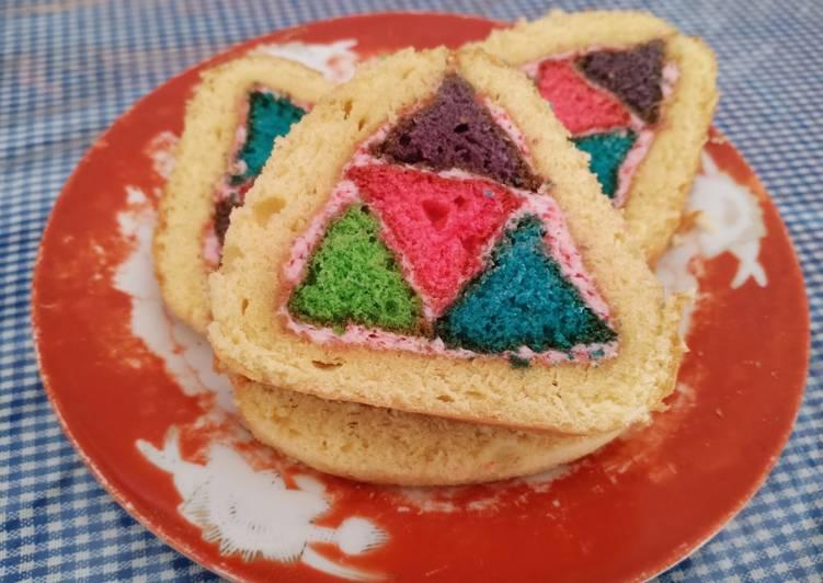 Resep Piramida Cake Oleh Dewi Flowrenz Cookpad