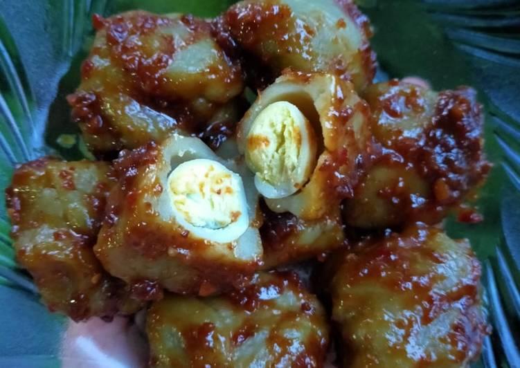 Somay Tahu isi Telur (Anti Gagal)