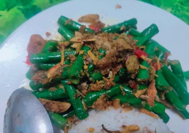 Resep Tumis Kacang panjang terasi kekinian