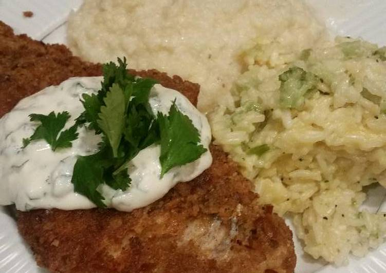 Easiest Way to Make Perfect Brad's pretzel crusted cod with cilantro lime aioli