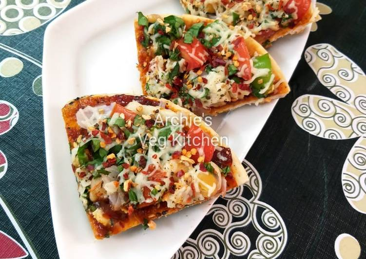 🔹Simply Veg Cheese Pizza