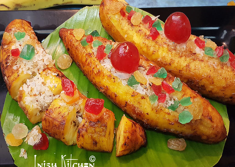 Exotic plantain boats