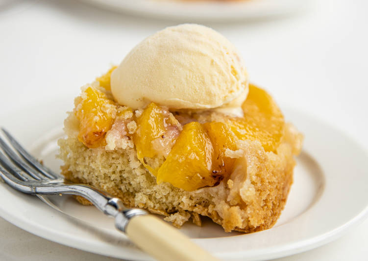 Easiest Way to Prepare Speedy Peach Cobbler