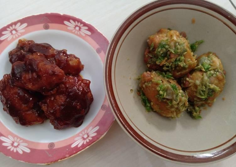 Ayam Cabe Hijau dan Ala Richeese