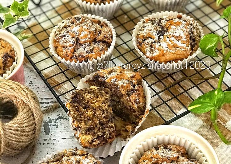 🍌 MUFFIN PISANG AIRFRYER - resepipouler.com