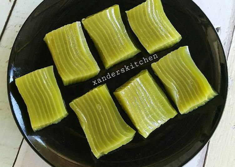 Resep Lapis Sagu Bangka Oleh Xander S Kitchen Cookpad