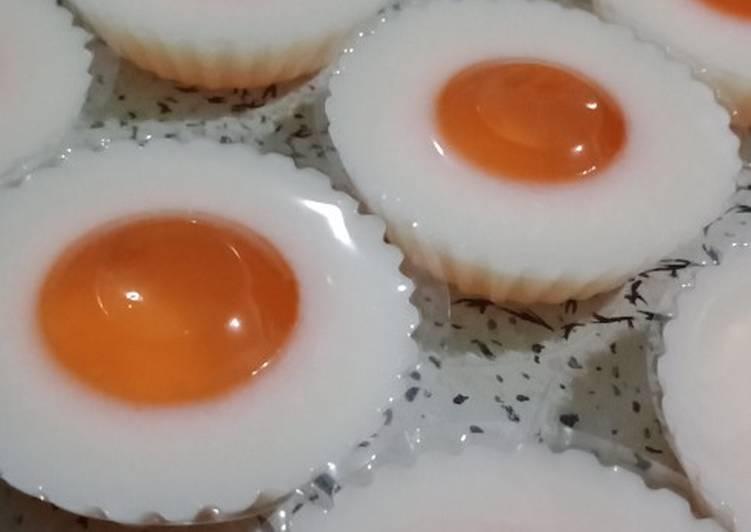 Puding ceplok telur