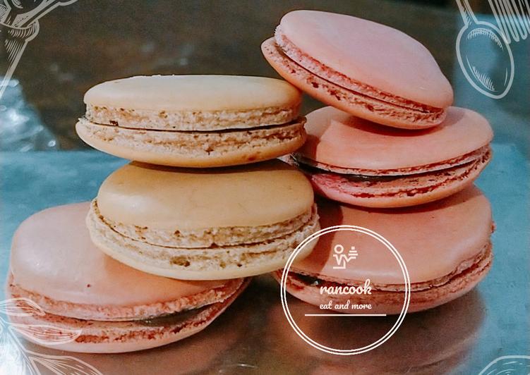 Resep Macaroon Tanpa Tepung Almond By Rancook Dengan Tips Trik Oleh Rancook Cookpad