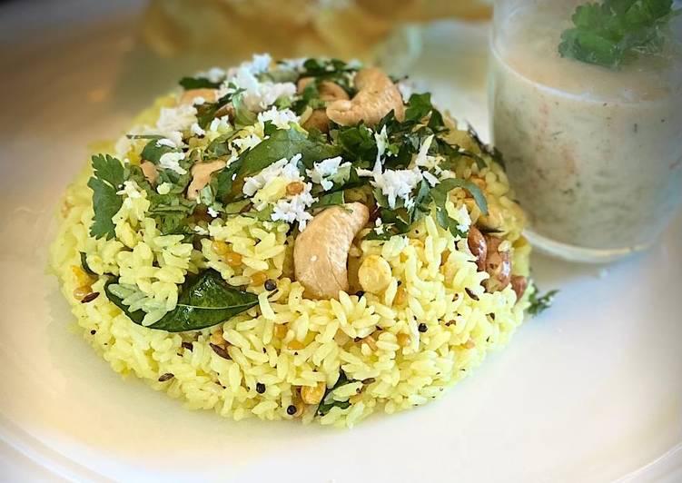 Chitranna/ lemon rice