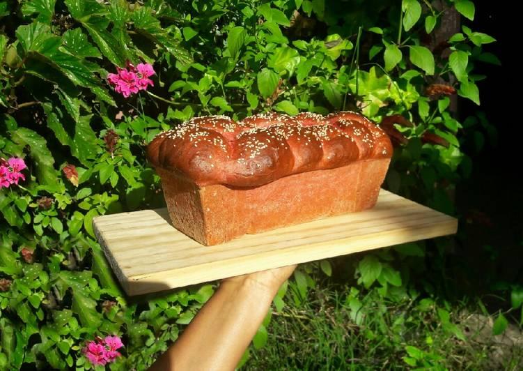 Pan brioche de remolacha con técnica tang zhong🙃