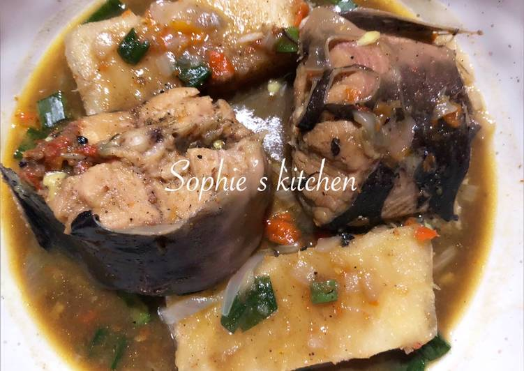 Simple Way to Make Any-night-of-the-week Cat fish and yam pepper soup