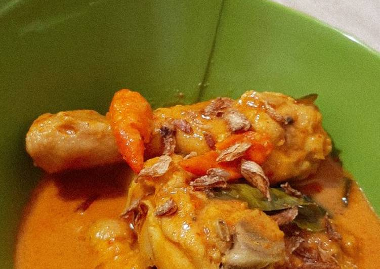 Resep Gulai Ayam Gurih & Kental yang Sempurna