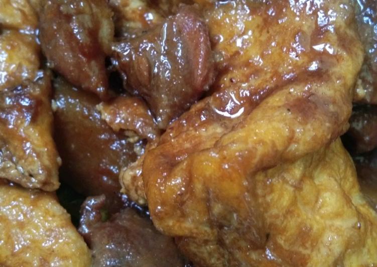 Semur Daging, Tahu & Kentang...