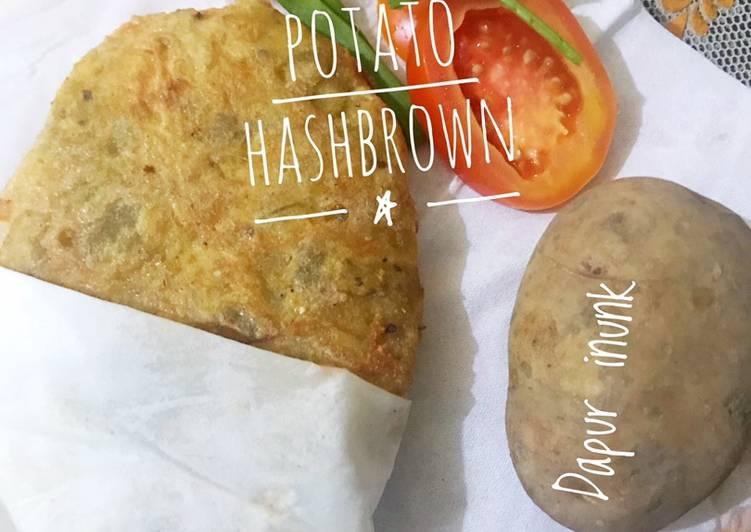 Resep 48. Hashbrown Potato Ala2 😁 Paling Mudah