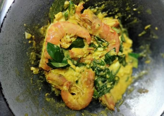 Udang goreng butter salted egg