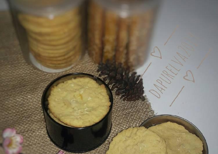 Crispy Almond Cheese Cookies#bandungrecook2_inesetiawati
