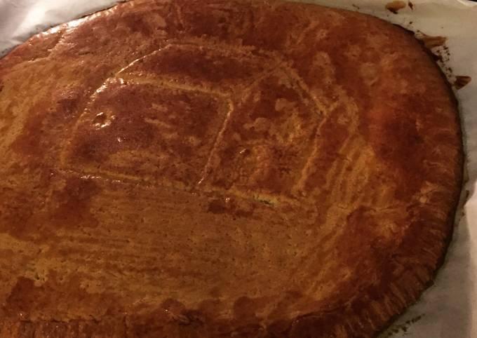 Galette des rois en pâte sablée