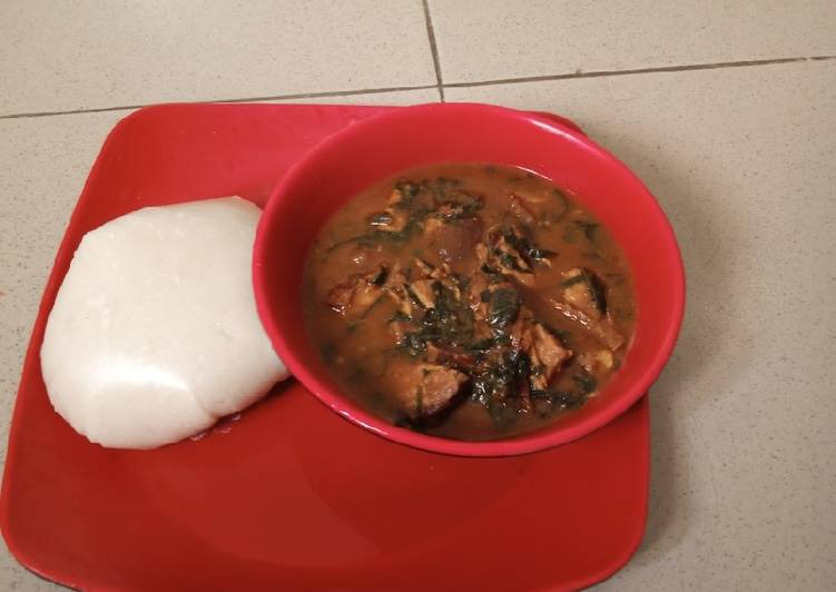 Steps to Prepare Any-night-of-the-week Ogbono soup