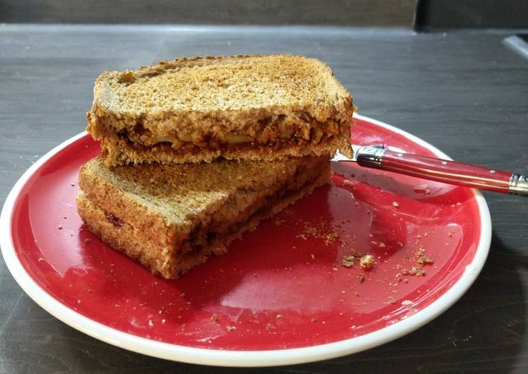 Step-by-Step Guide to Prepare Homemade Cheese & Marmite Toastie