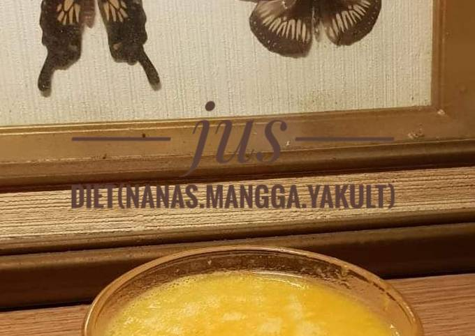 Jus diet (nanas.mangga.yakult)