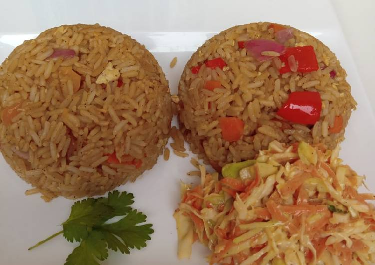 Oriental chinese fried rice recipe