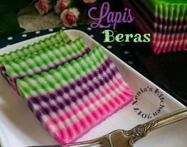 Kue Lapis Beras(Tepung Beras)