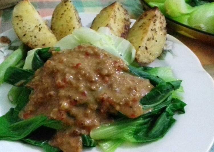 Resep Pecel n Baked Potato Menu #GMdiet Day 2 Paling Top
